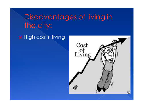 advantages and disadvantages of living in the country essay